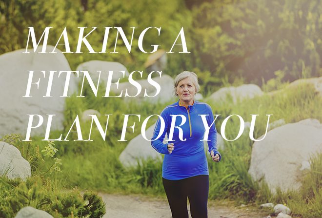 Making a fitness plan for you banner