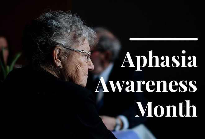 Aphasia Awareness Month Blog Banner